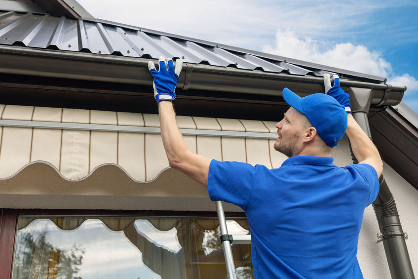 Challenges to Commercial Property Gutter Maintenance